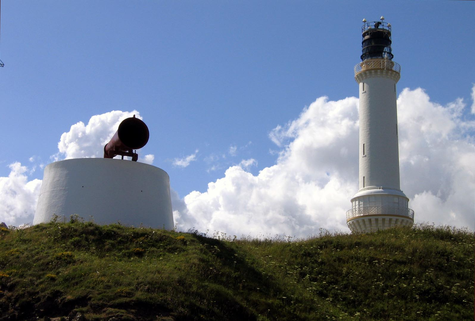 Gridle Ness lighthouse